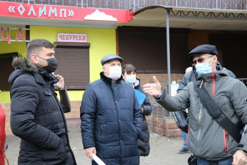 Проспект Айвазовского опять будет в торговых точках