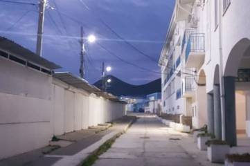 В Коктебеле восстановили освещение на нескольких улицах