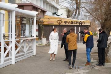 Олег Крючков взял интервью у общественницы из Феодосии
