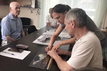 Дом-музей М. А. Волошина представил тактильные копии экспонатов.