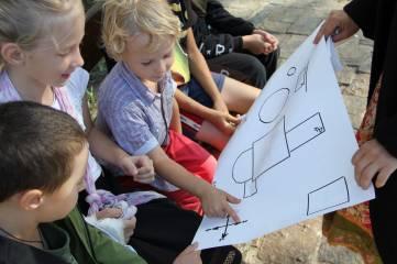 Акция «Дети против террора».