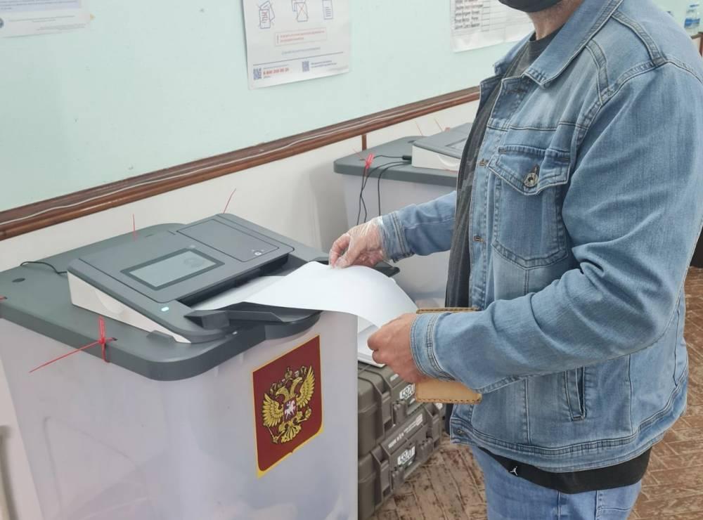 В Феодосии проголосовал 41% избирателей