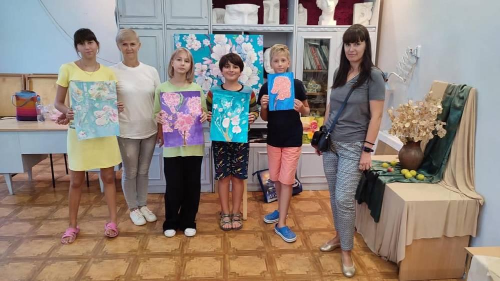 Мастер- классы для детей от участников художественного пленэра «Коктебель-2021».