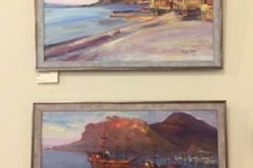 Выставка пленэрных работ «Прогулки с этюдником»