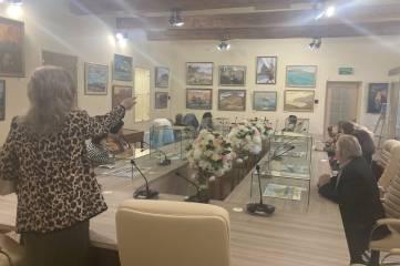 Выставка «Прогулки с этюдником».