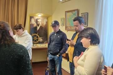 Музеи заповедника «Киммерия М. А. Волошина» посетила делегация.