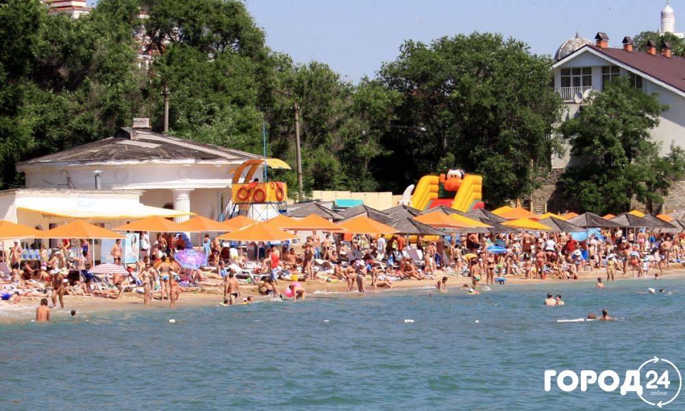 Пляж 1-й городской