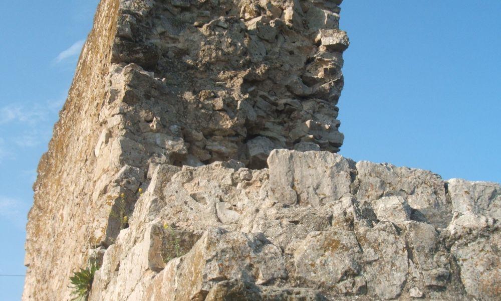 Башня Джованни Дискаффа (круглая башня)