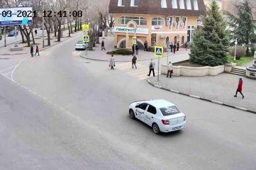 Веб-камеры Феодосии, Камера с видом на памятник Соковнину