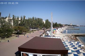 Веб-камеры Феодосии, Пляж Камешки