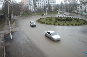 Веб-камеры Керчи, Гагаринское кольцо перекресток