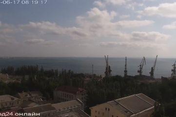 Веб-камеры Феодосии, Вид на Феодосию с красной горки