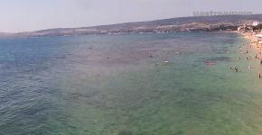 Веб-камеры Феодосии, Пляж Черноморской набережной