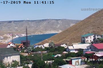 Веб-камеры Феодосии, Двуякорная бухта в Орджоникидзе