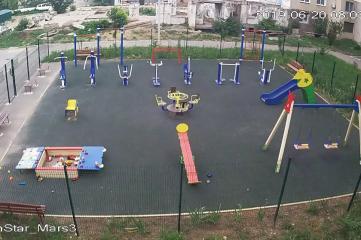 Веб-камеры Симферополе, Детская площадка