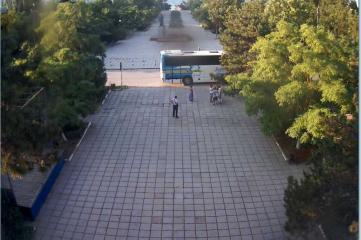 Веб-камеры Феодосии, Вид на площадь Ленина