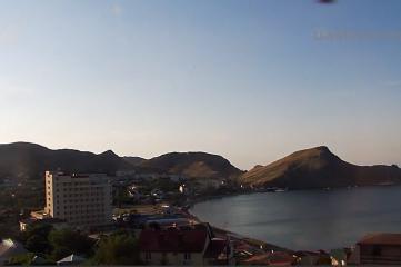 Веб-камеры Феодосии, Бухта Провато в Орджоникидзе