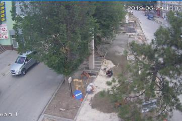 Веб-камеры Белогорске, Памятник Ленину