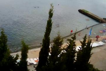 Веб-камеры Алуште, Пляж Дельфин