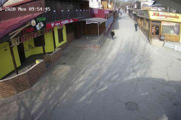 Веб-камеры Феодосии, Спуск от кинотеатра Украина