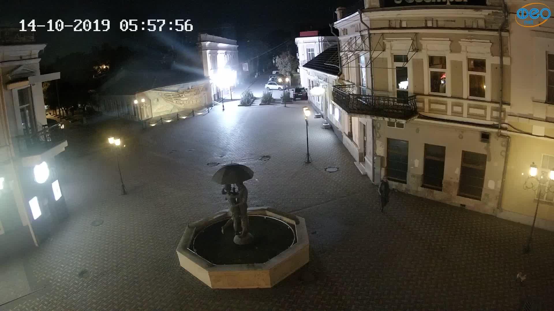 Веб-камеры Феодосии, Панно Бригантина (Камера со звуком.), 2019-10-14 06:03:06
