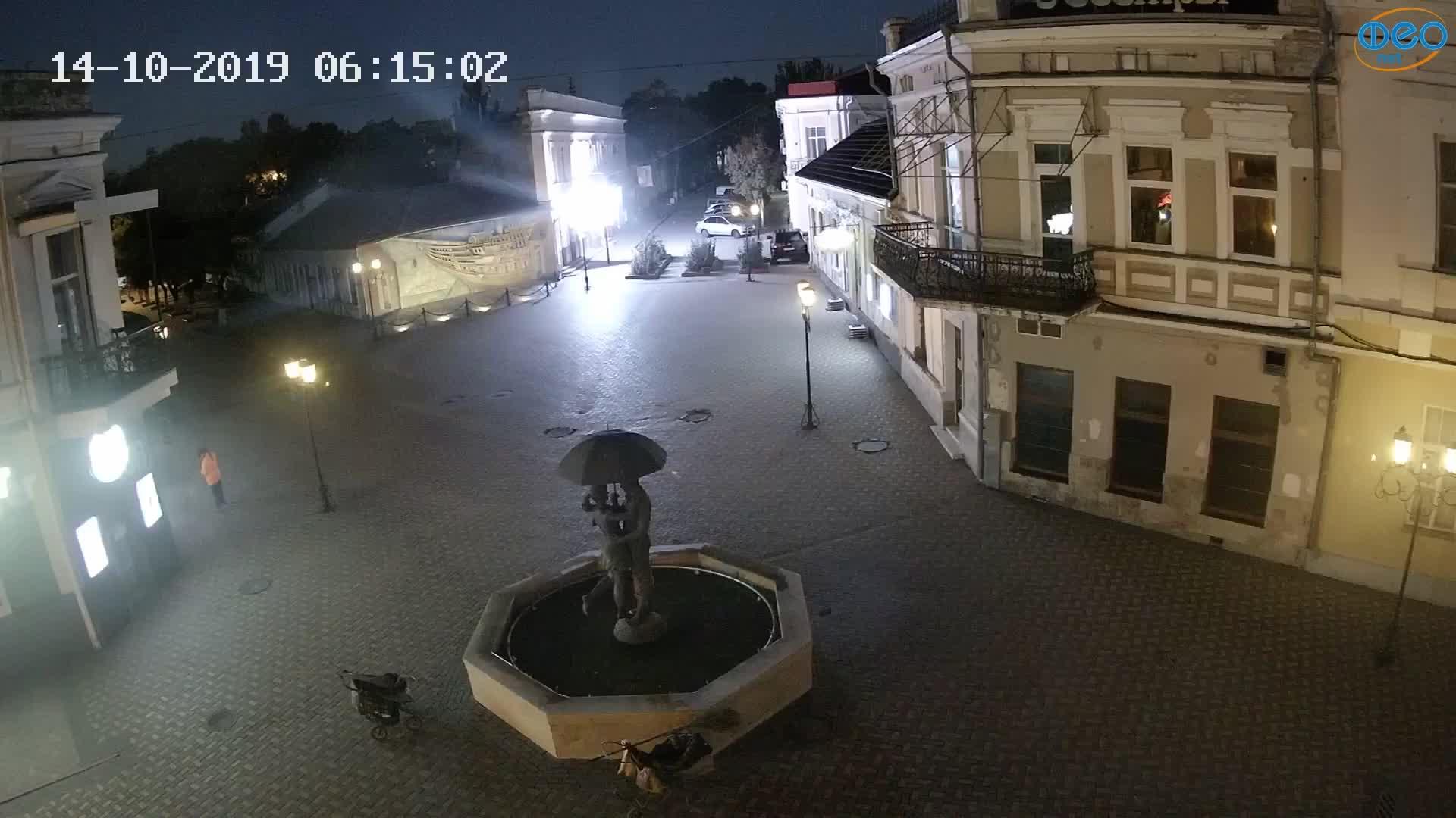 Веб-камеры Феодосии, Панно Бригантина (Камера со звуком.), 2019-10-14 06:23:06