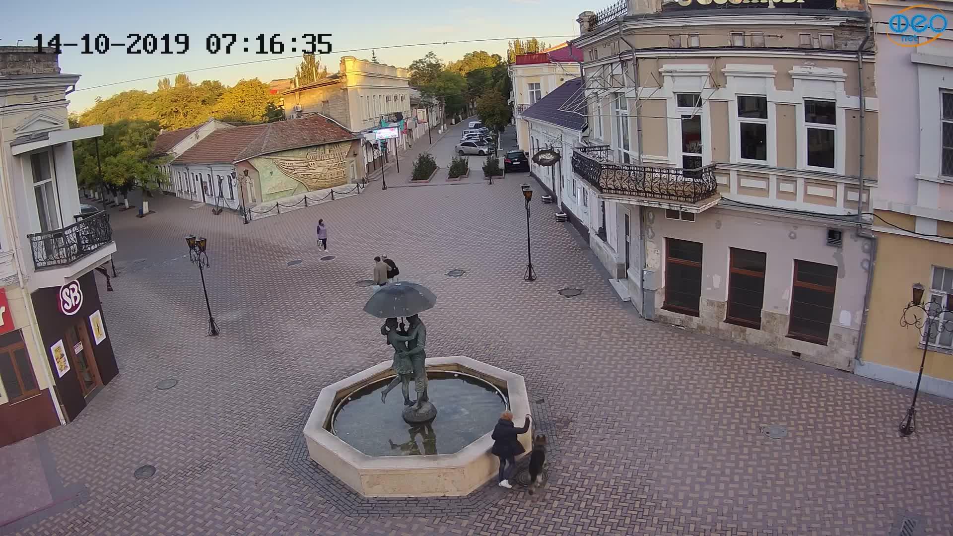 Веб-камеры Феодосии, Панно Бригантина (Камера со звуком.), 2019-10-14 07:23:06