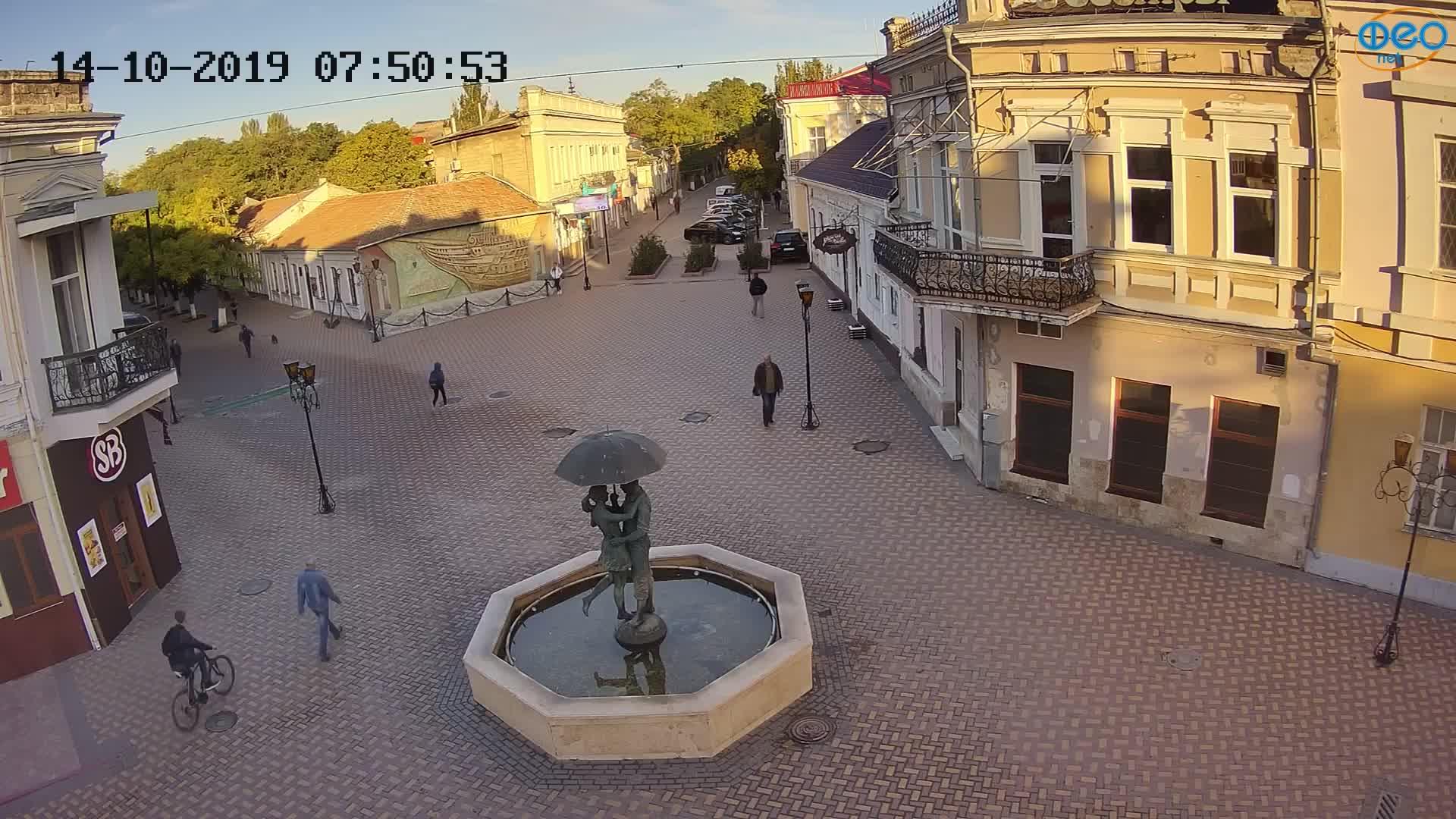Веб-камеры Феодосии, Панно Бригантина (Камера со звуком.), 2019-10-14 08:03:07