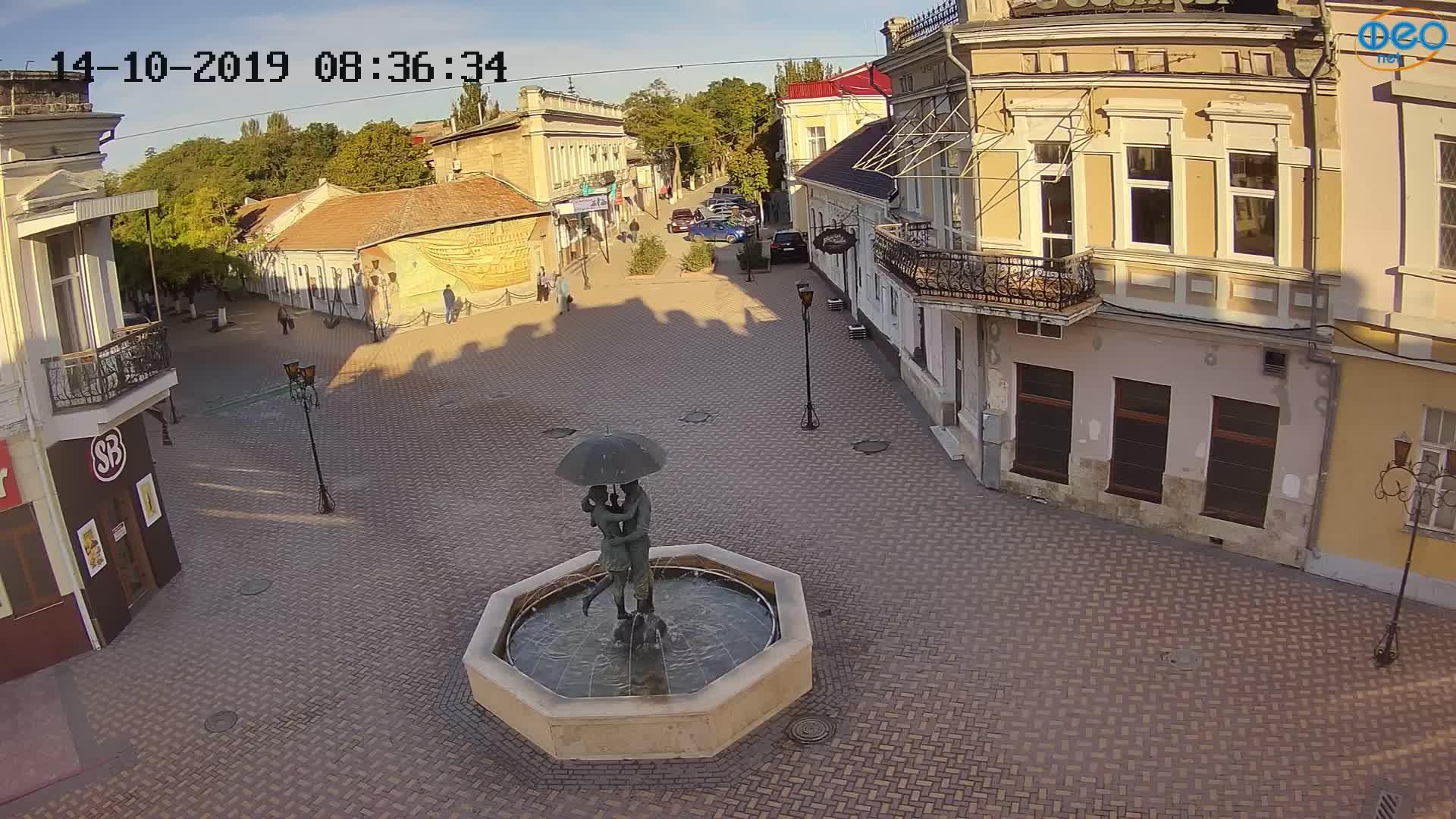 Веб-камеры Феодосии, Панно Бригантина (Камера со звуком.), 2019-10-14 09:03:07