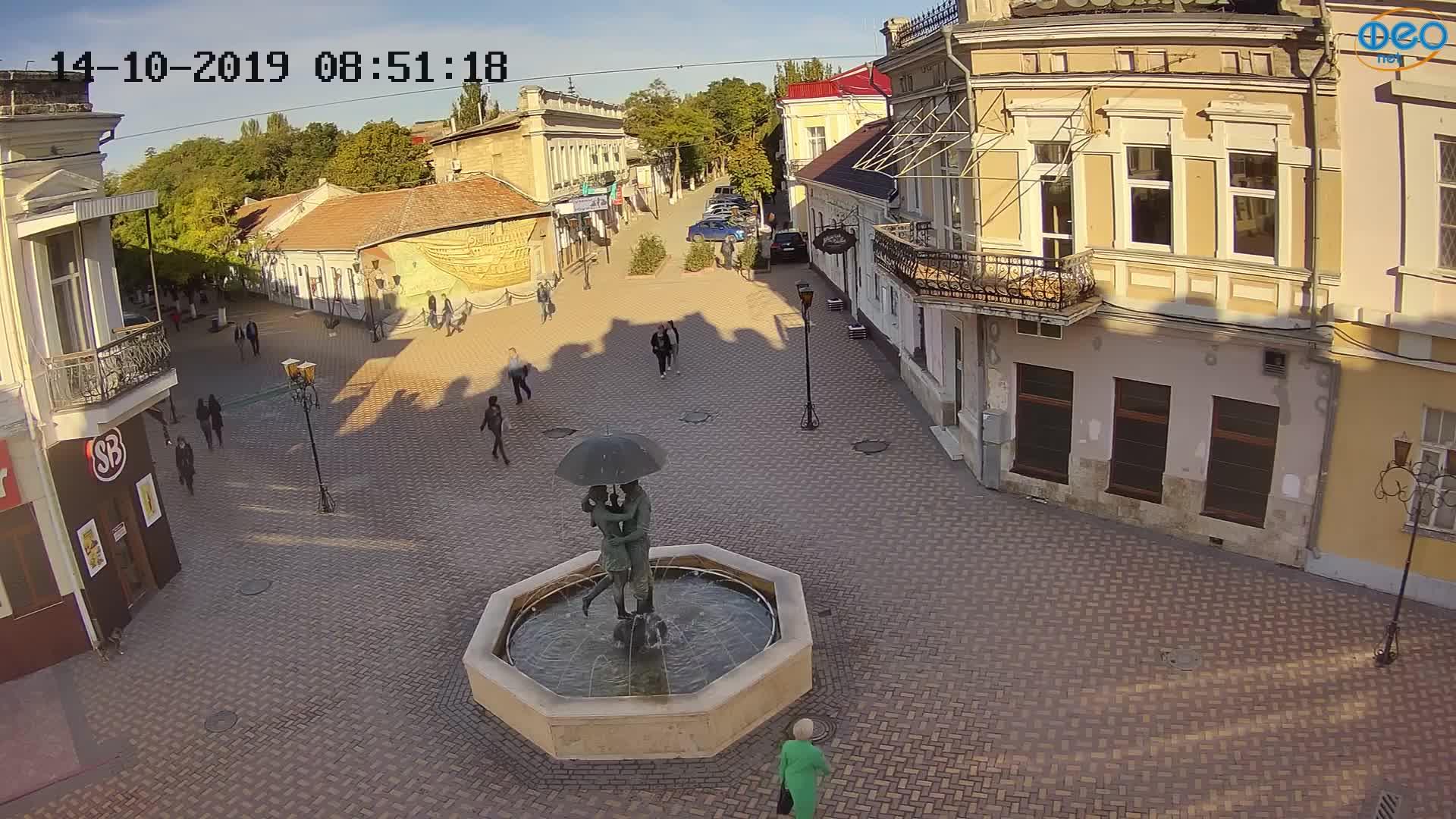Веб-камеры Феодосии, Панно Бригантина (Камера со звуком.), 2019-10-14 09:23:09
