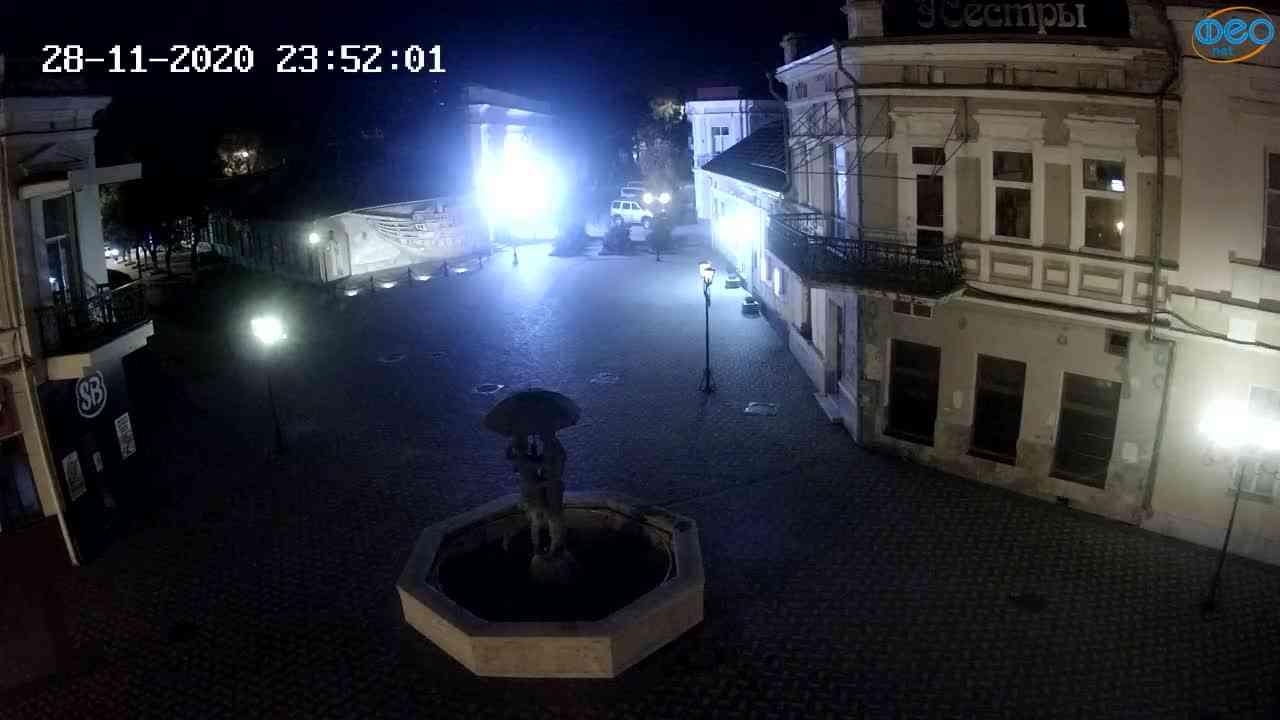 Веб-камеры Феодосии, Панно Бригантина (Камера со звуком.), 2020-11-28 23:45:05