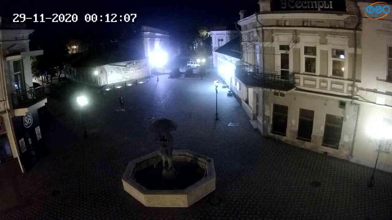 Веб-камеры Феодосии, Панно Бригантина (Камера со звуком.), 2020-11-29 00:05:05