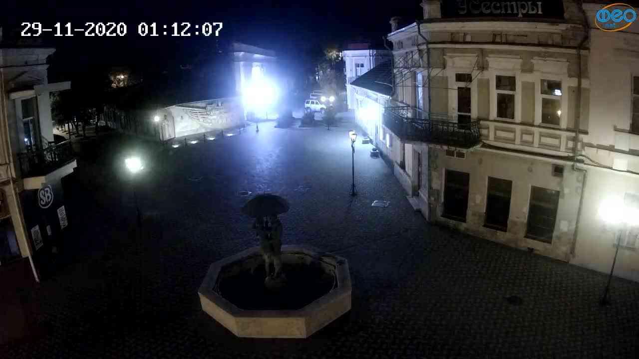 Веб-камеры Феодосии, Панно Бригантина (Камера со звуком.), 2020-11-29 01:05:05