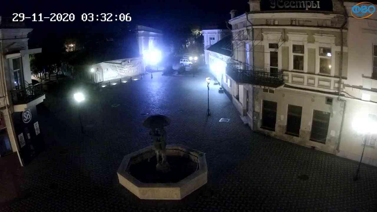 Веб-камеры Феодосии, Панно Бригантина (Камера со звуком.), 2020-11-29 03:25:06