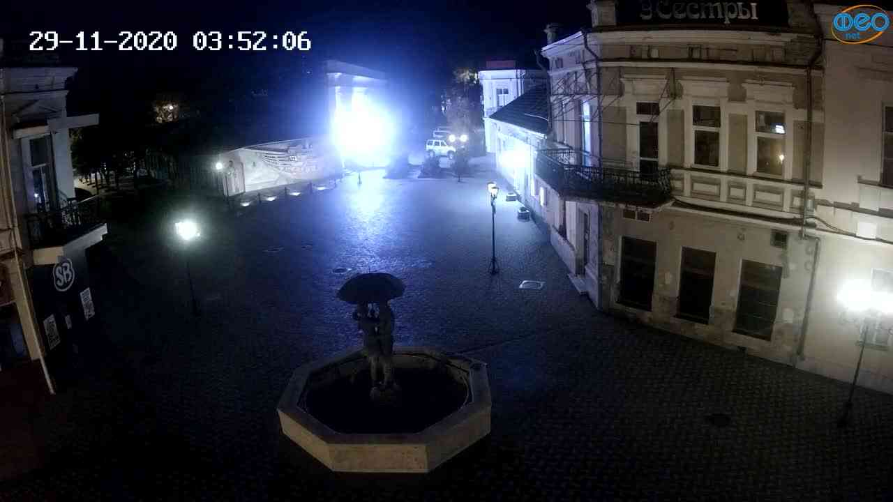 Веб-камеры Феодосии, Панно Бригантина (Камера со звуком.), 2020-11-29 03:45:05