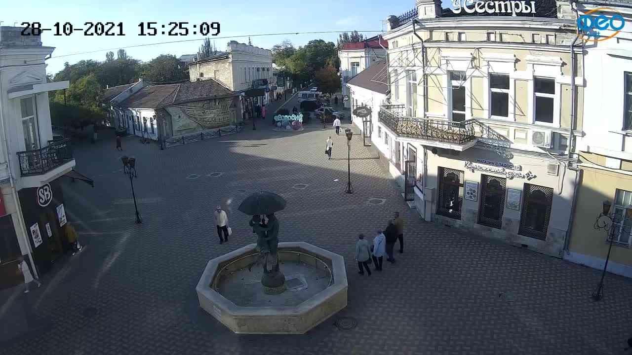 Веб-камеры Феодосии, Панно Бригантина (Камера со звуком.), 2021-10-28 15:25:17