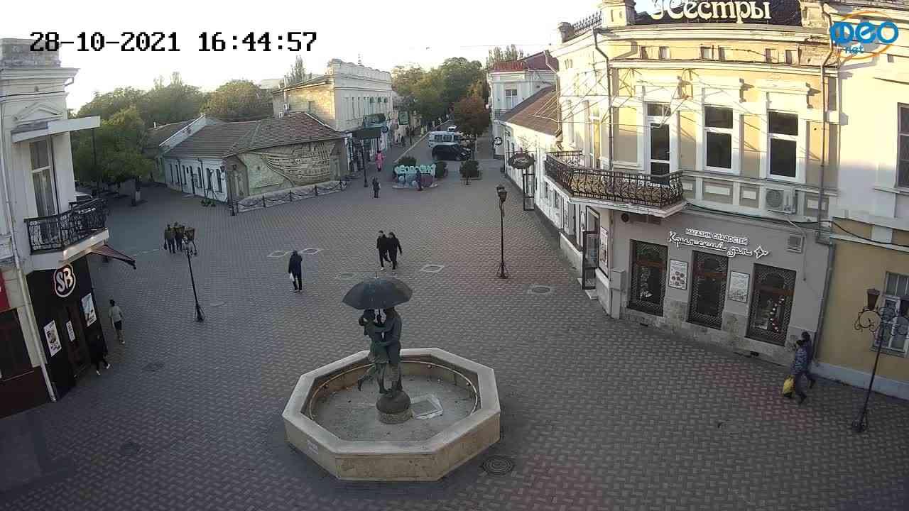 Веб-камеры Феодосии, Панно Бригантина (Камера со звуком.), 2021-10-28 16:45:09