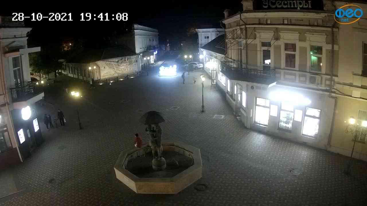 Веб-камеры Феодосии, Панно Бригантина (Камера со звуком.), 2021-10-28 19:41:19