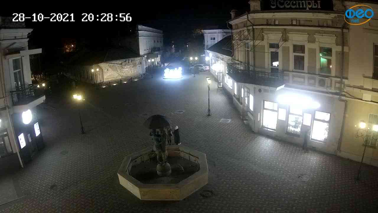 Веб-камеры Феодосии, Панно Бригантина (Камера со звуком.), 2021-10-28 20:29:08