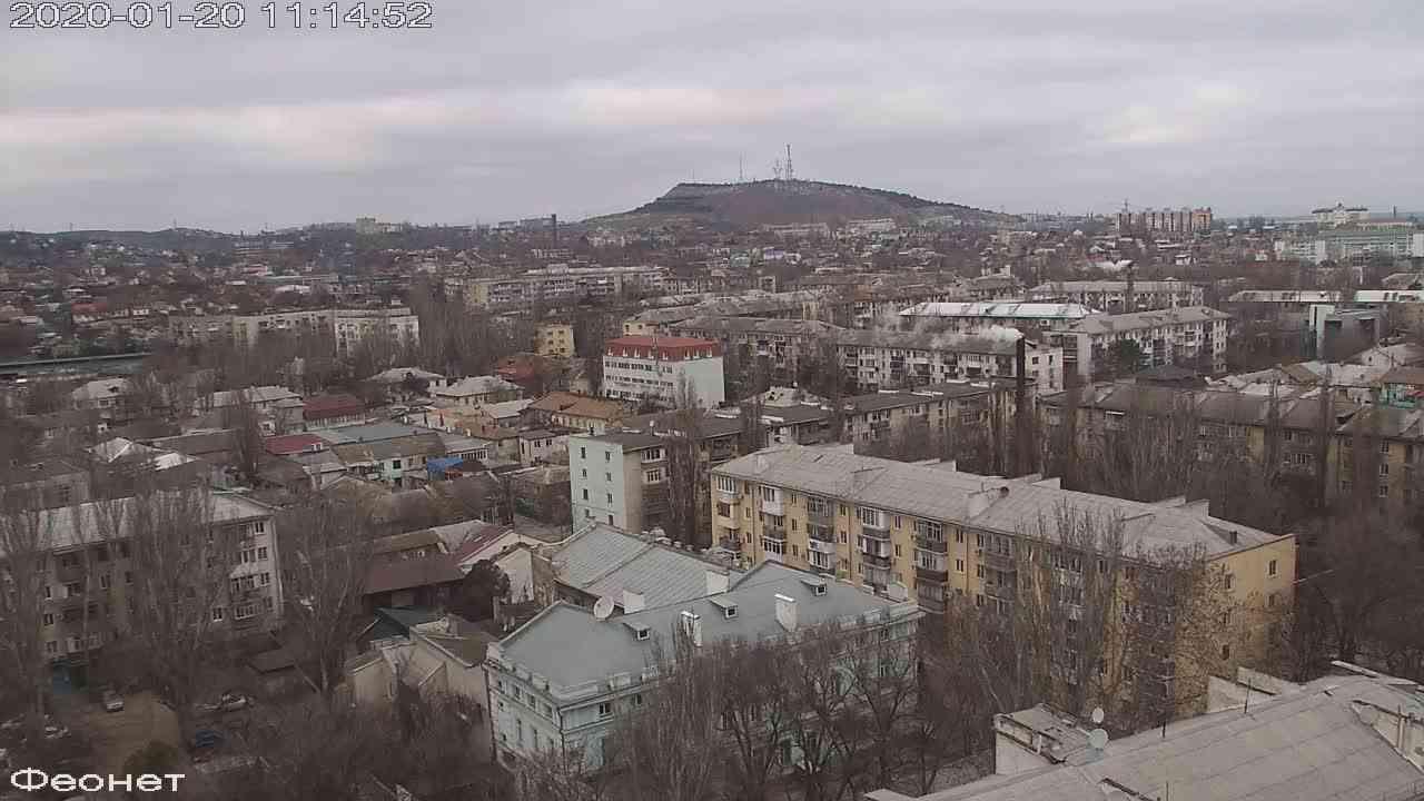 Веб-камеры Феодосии, Обзорная, 2020-01-20 11:15:15