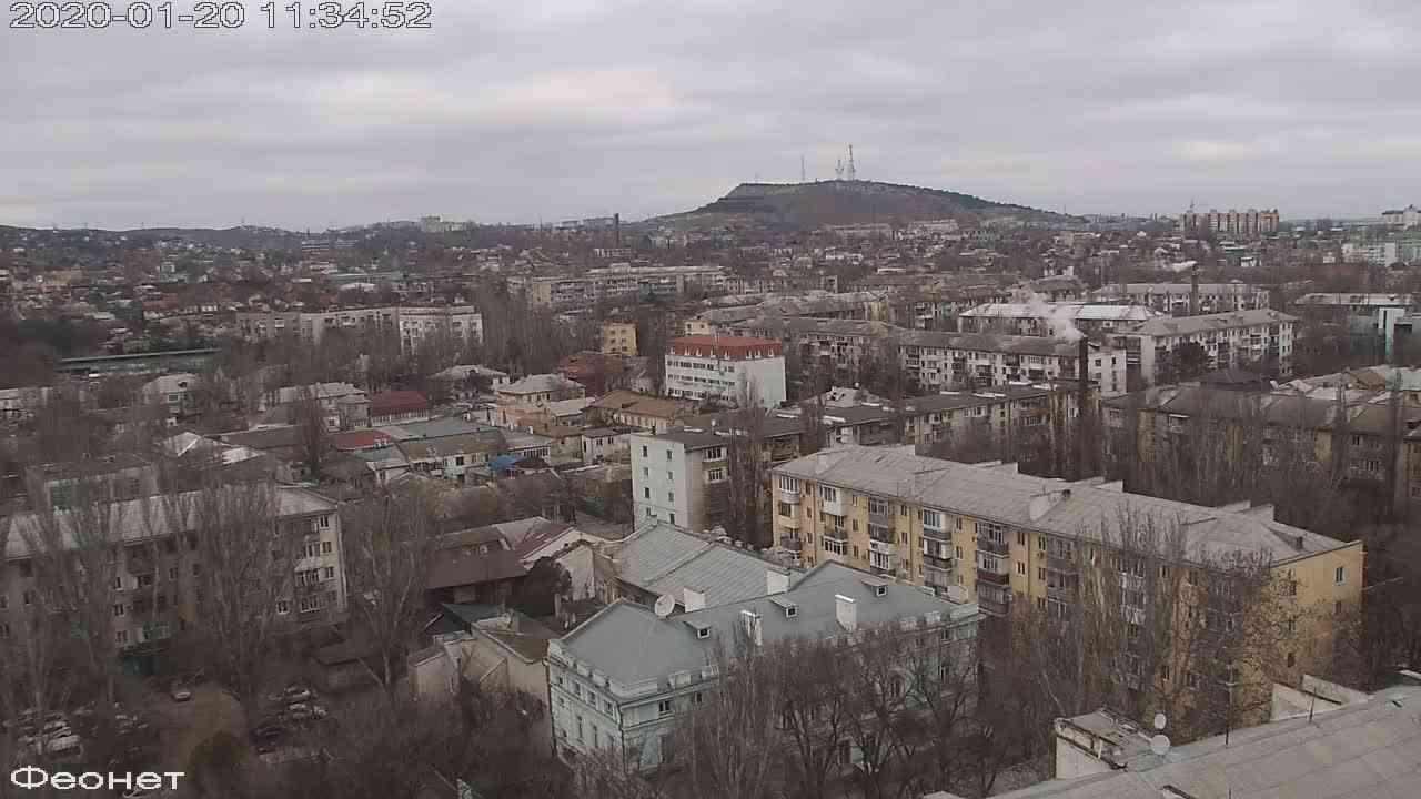 Веб-камеры Феодосии, Обзорная, 2020-01-20 11:35:15