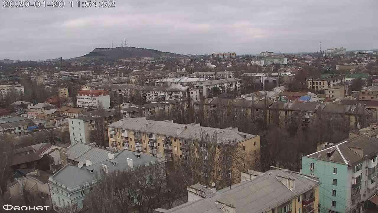 Веб-камеры Феодосии, Обзорная, 2020-01-20 11:55:14