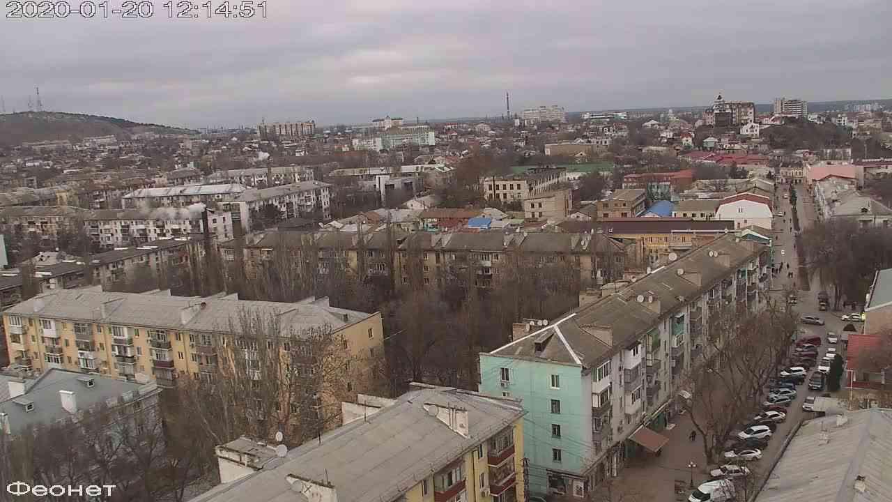 Веб-камеры Феодосии, Обзорная, 2020-01-20 12:15:15