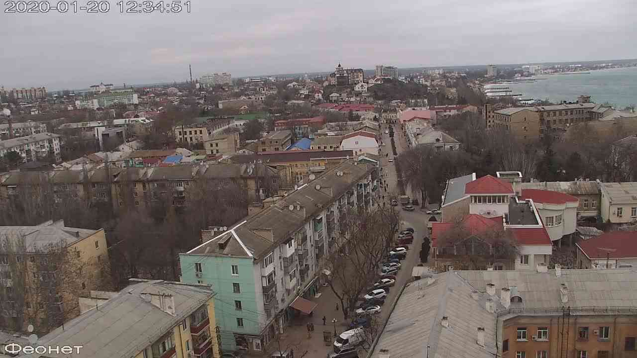 Веб-камеры Феодосии, Обзорная, 2020-01-20 12:35:15