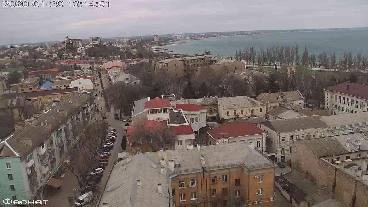 Веб-камеры Феодосии, Обзорная, 2020-01-20 13:15:15