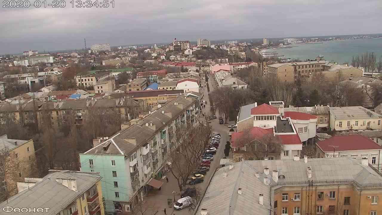Веб-камеры Феодосии, Обзорная, 2020-01-20 13:35:15