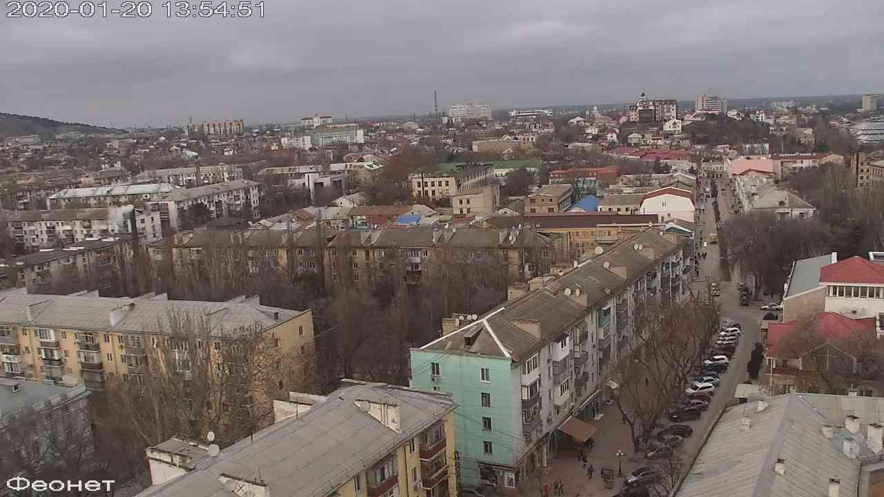 Веб-камеры Феодосии, Обзорная, 2020-01-20 13:55:14
