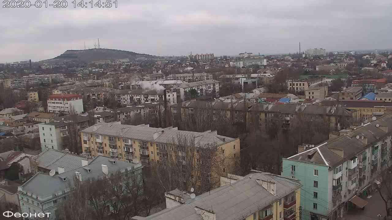 Веб-камеры Феодосии, Обзорная, 2020-01-20 14:15:15