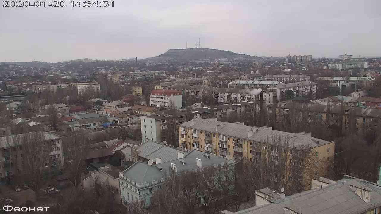 Веб-камеры Феодосии, Обзорная, 2020-01-20 14:35:15