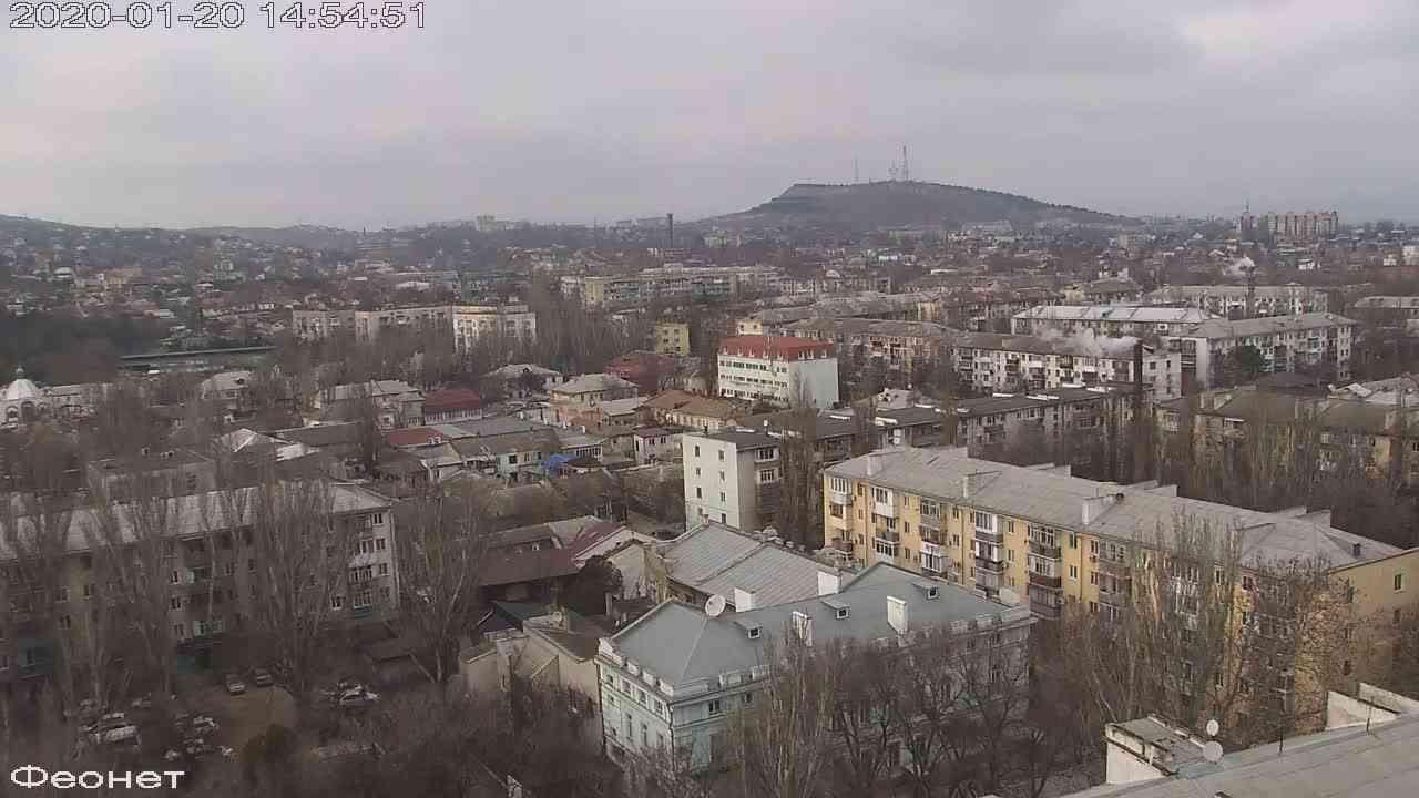 Веб-камеры Феодосии, Обзорная, 2020-01-20 14:55:14